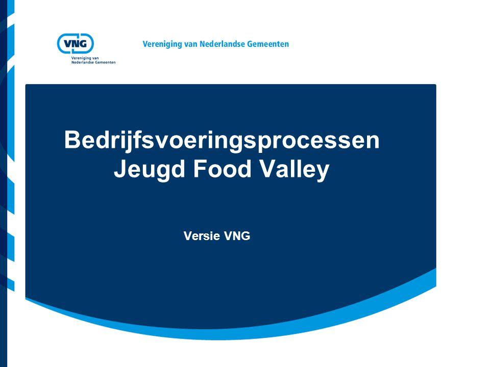 Bedrijfsvoeringsprocessen Jeugd Food Valley Versie VNG