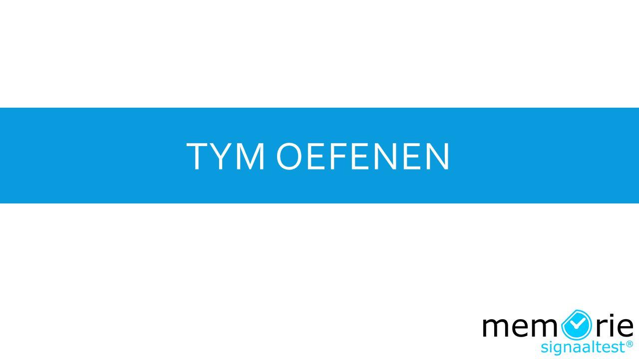 TYM OEFENEN