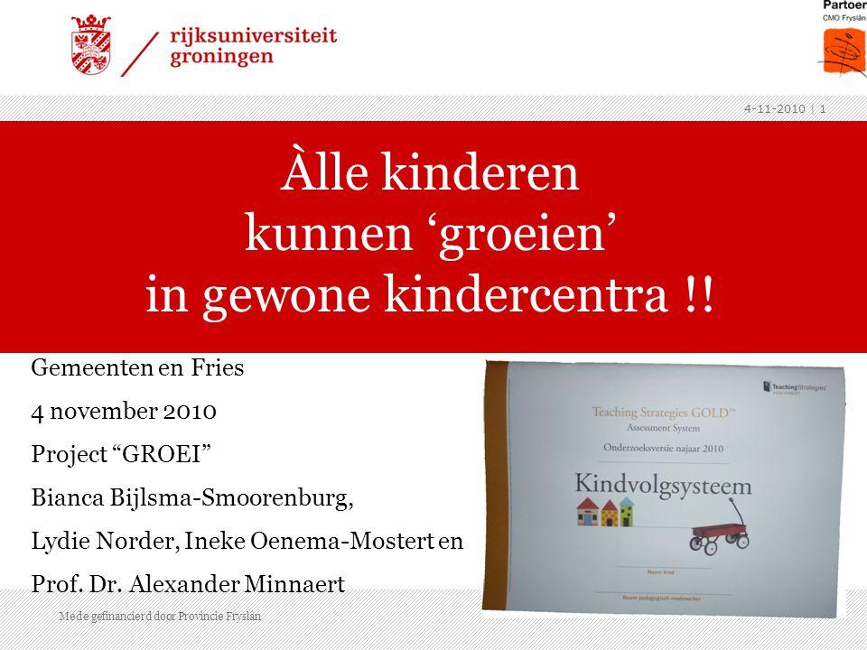 Aanleiding: ›Onderzoek signaleringsfunctie kindercentra 2006 (B.Y.