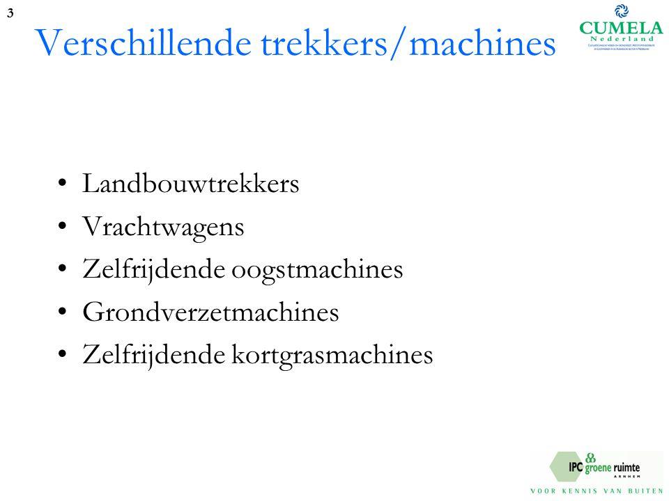 Verschillende trekkers/machines Landbouwtrekkers Vrachtwagens Zelfrijdende oogstmachines Grondverzetmachines Zelfrijdende kortgrasmachines 3