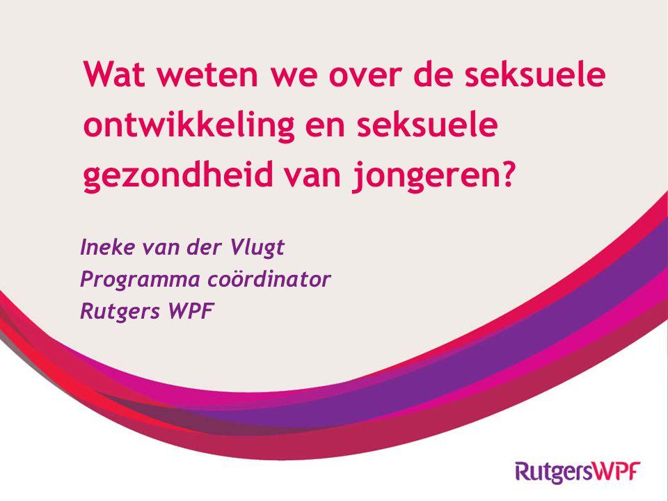 Meer informatie: Voor jongeren: www.sense.infowww.sense.info CanYoufixit.nl No or go.nl Voor professionals: www.rutgerswpf.nlwww.rutgerswpf.nl : seksuelevorming.nl : seksindepraktijk.nl (vanaf 2014) Voor ouders: www.uwkindenseks.nlwww.uwkindenseks.nl I.vandervlugt@rutgerswpf.nl Hoe maak ik mijn seksleven leuker?