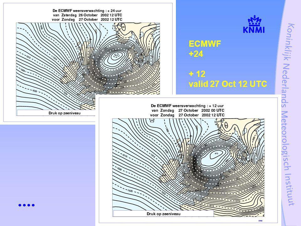 Stormcase 27 oktober 200212 ECMWF +24 + 12 valid 27 Oct 12 UTC