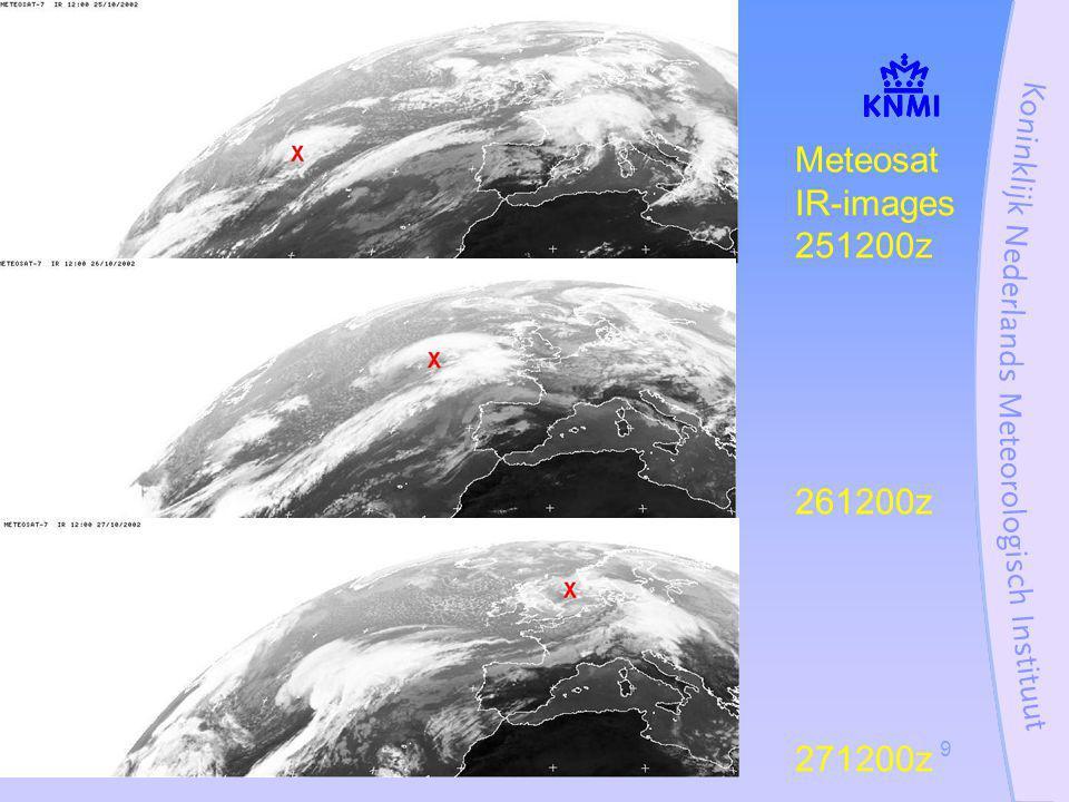 Stormcase 27 oktober 200220 Cabauw (till 213 m) wind Meanspeed/Gust