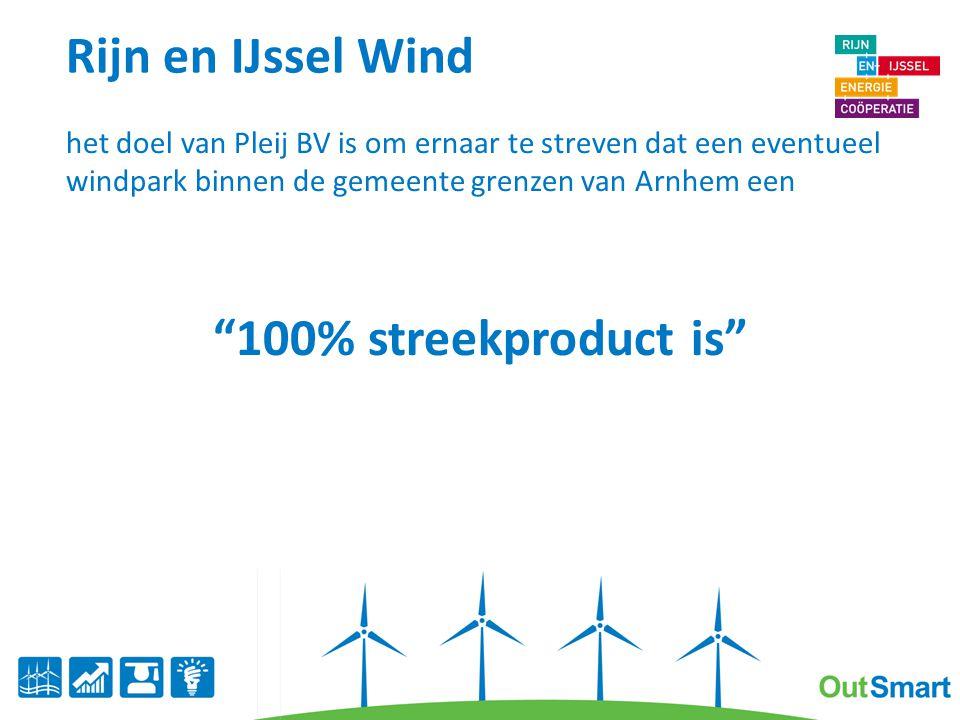 Rijn en IJssel wind; hoe.