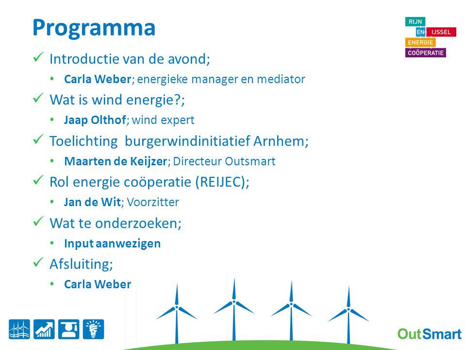 Even voorstellen Maarten de Keijzer Arnhemmer 15 jaar werkzaam in wind energie m.n.