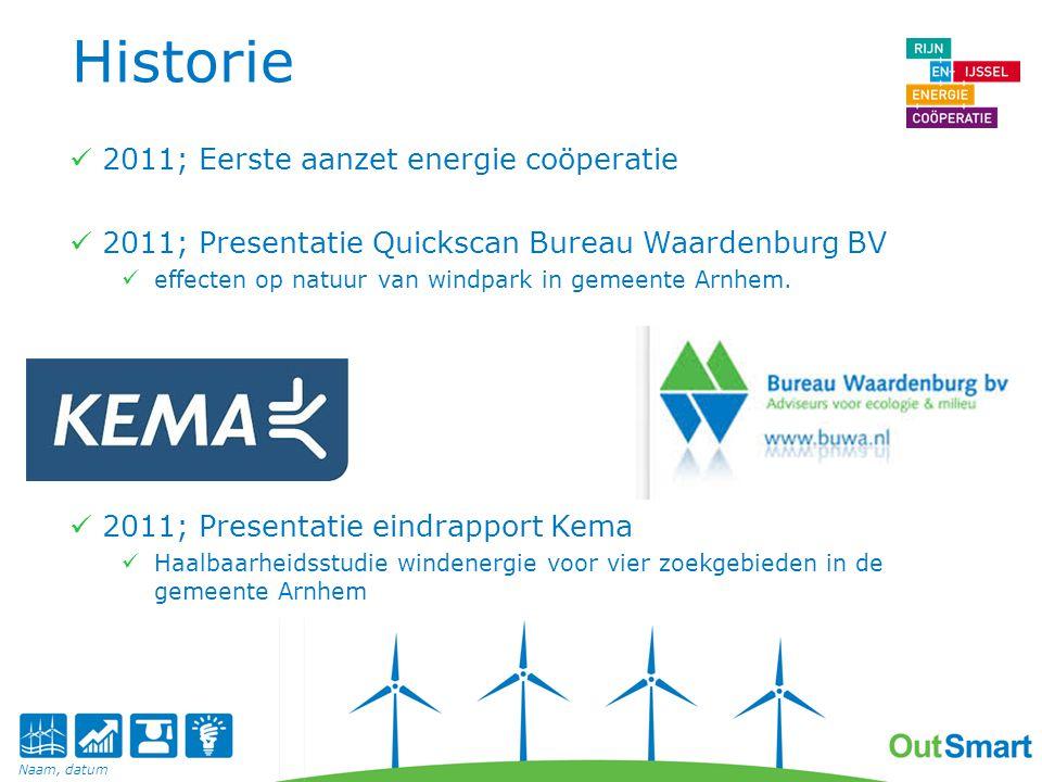 Historie 2012; oprichting Energie Coöperatie Q1 2013; uitspraak raad voor faciliteren proces wind energie Q3 2013; Oprichting Pleij BV & Intentieovereenkomst met Gemeente Maart 2014 gemeenteraad verkiezingen; Nieuw coalitieakkoord; Met de stad' wordt ruimte gegeven aan windmolens.