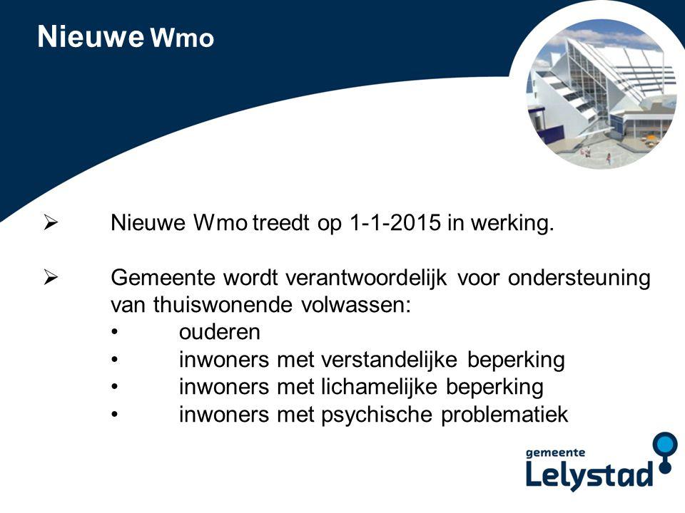 PowerPoint presentatie Lelystad Gemeentelijk beleid  Kadernota Samen Leven, Samen Redzaam is vastgesteld.