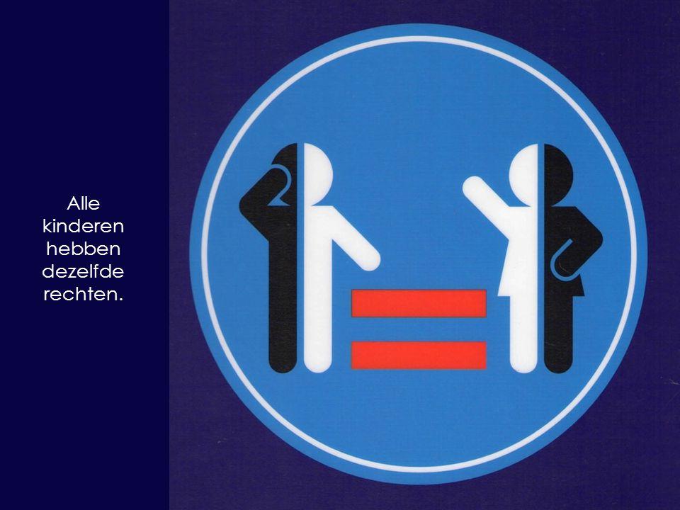 Alle kinderen hebben dezelfde rechten.