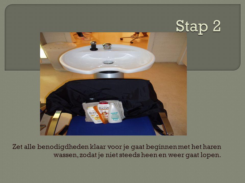  Kam  Shampoo  Crèmespoeling  Klep  Kap  handdoek