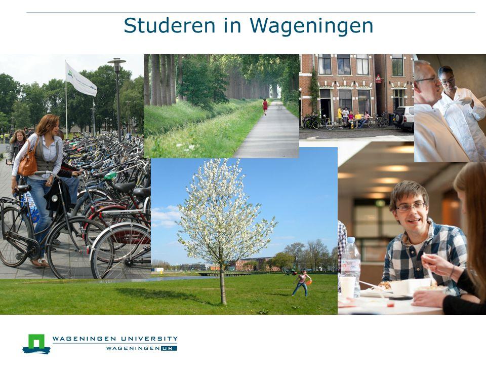 Studeren in Wageningen