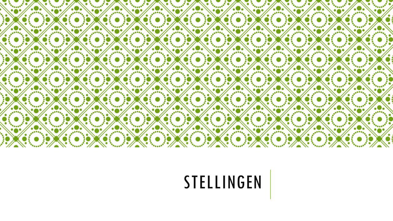 STELLINGEN