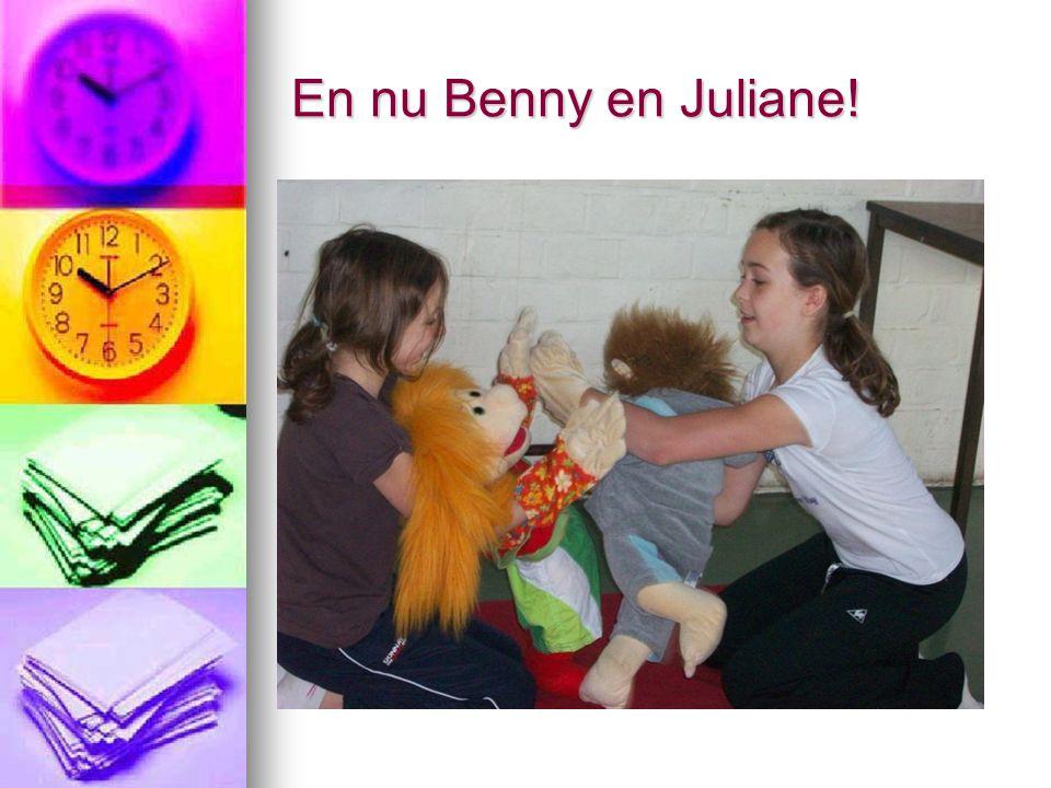 En nu Benny en Juliane!