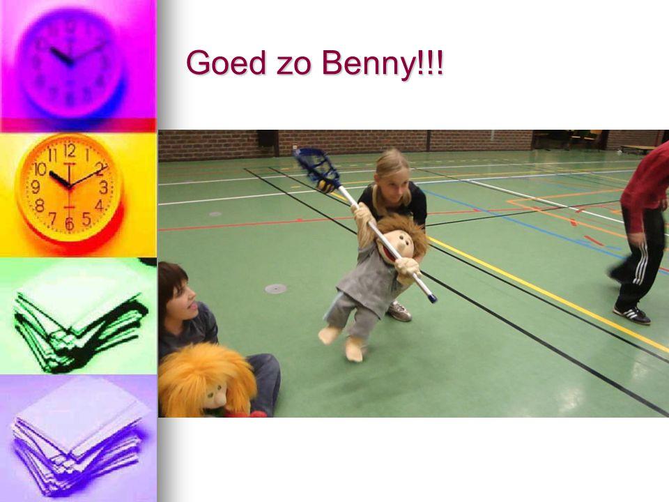 Goed zo Benny!!!