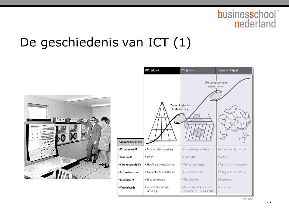 23 De geschiedenis van ICT (1)