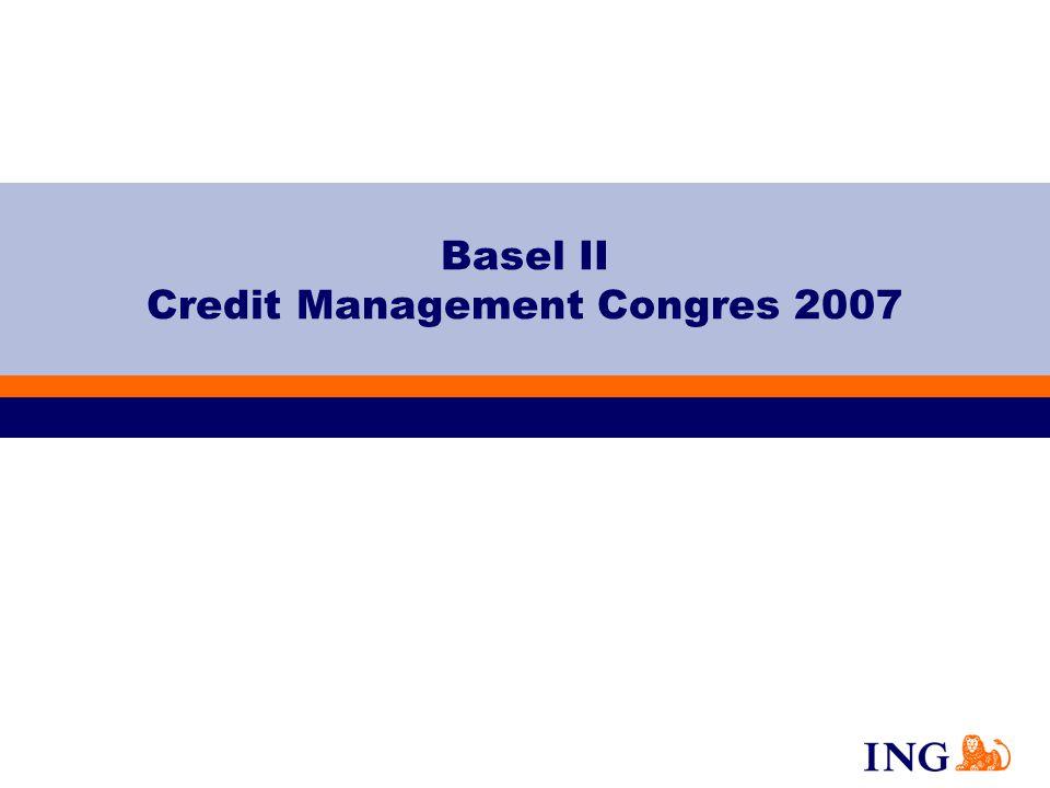 Basel II Credit Management Congres 2007 Text