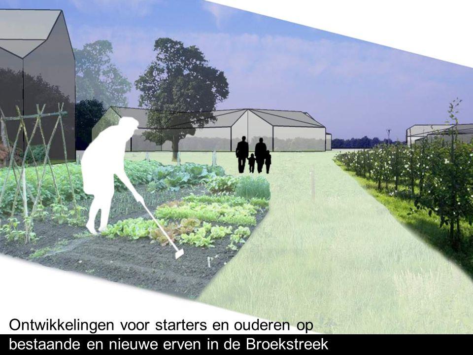 Ontwikkelingen voor starters en ouderen op bestaande en nieuwe erven in de Broekstreek
