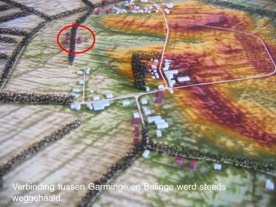 Verbinding tussen Garminge en Balinge werd steeds weggehaald.