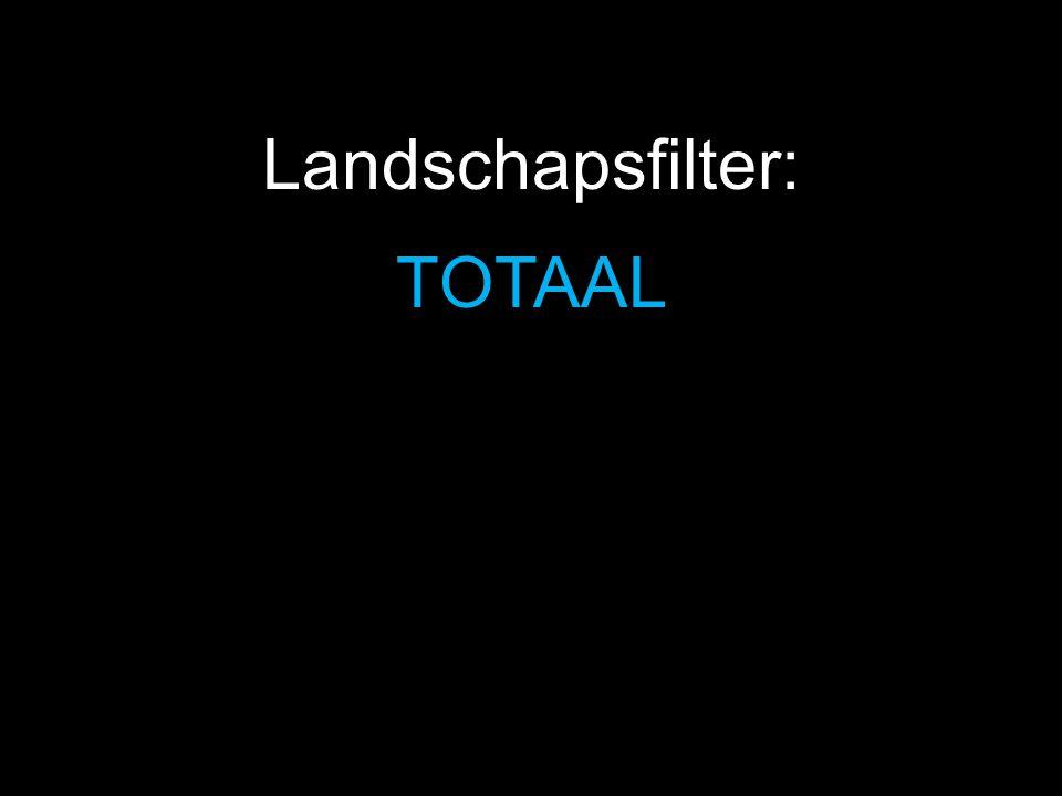 TOTAAL Landschapsfilter: