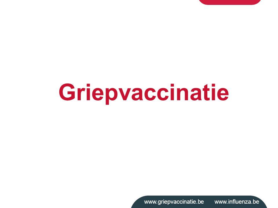 www.griepvaccinatie.be www.influenza.be Griepvaccinatie