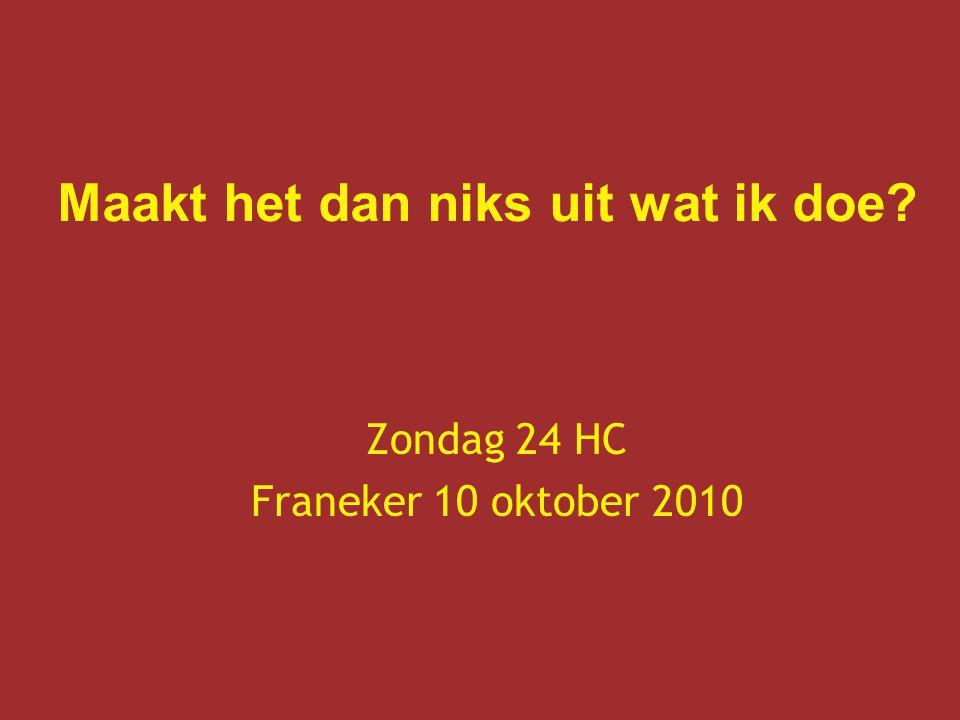Zondag 24 HC Franeker 10 oktober 2010