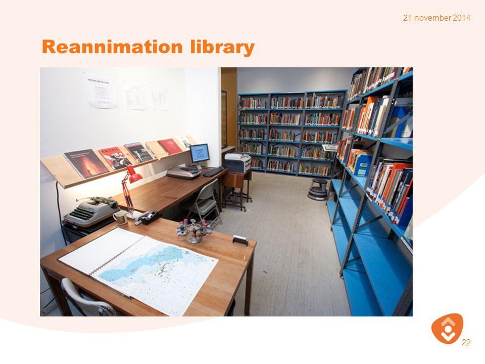 Reannimation library 21 november 2014 22