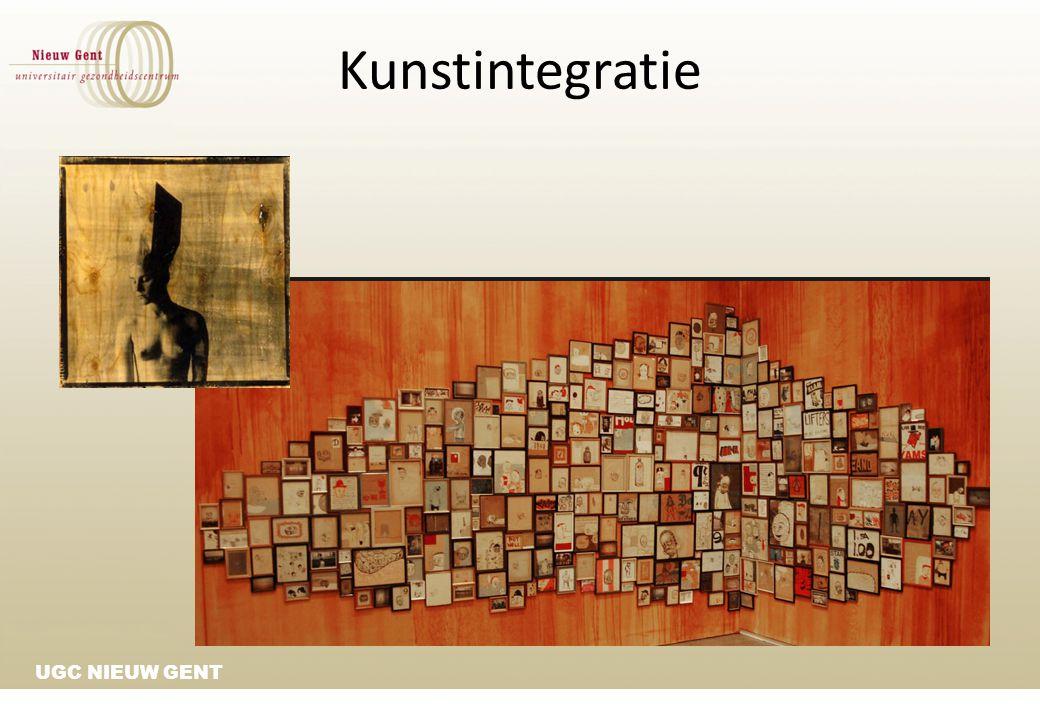 UGC NIEUW GENT Kunstintegratie