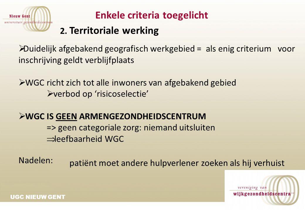 UGC NIEUW GENT WGC Nieuw Gent