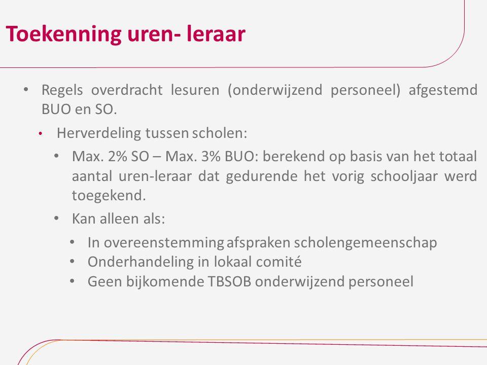 Communicatie nieuwigheden AgODi : via Ronde Van Vlaanderen en via Omzendbrieven in Edulex GO.