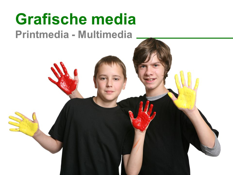 Grafische media Printmedia - Multimedia