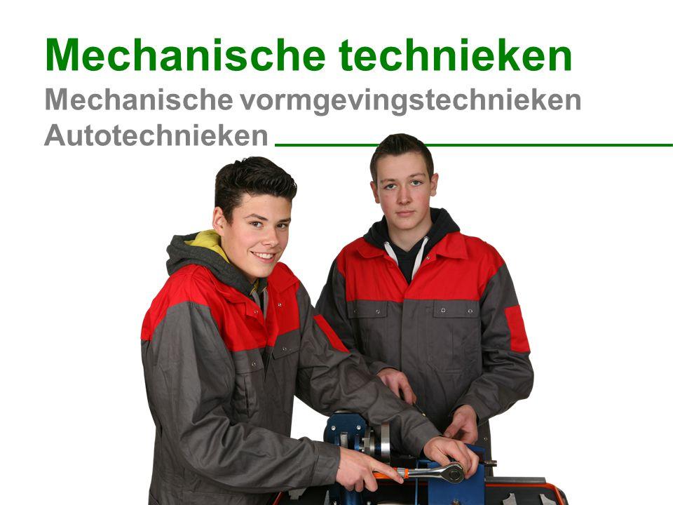 Mechanische technieken Mechanische vormgevingstechnieken Autotechnieken