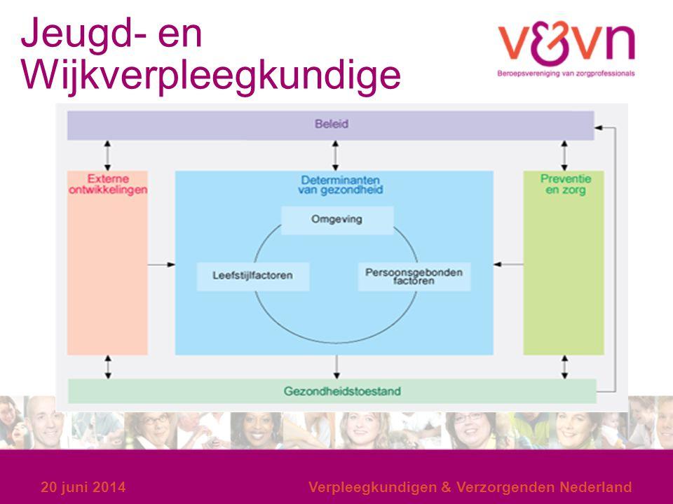 Jeugd- en Wijkverpleegkundige 20 juni 2014Verpleegkundigen & Verzorgenden Nederland