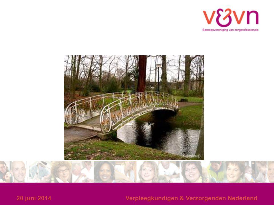 20 juni 2014Verpleegkundigen & Verzorgenden Nederland