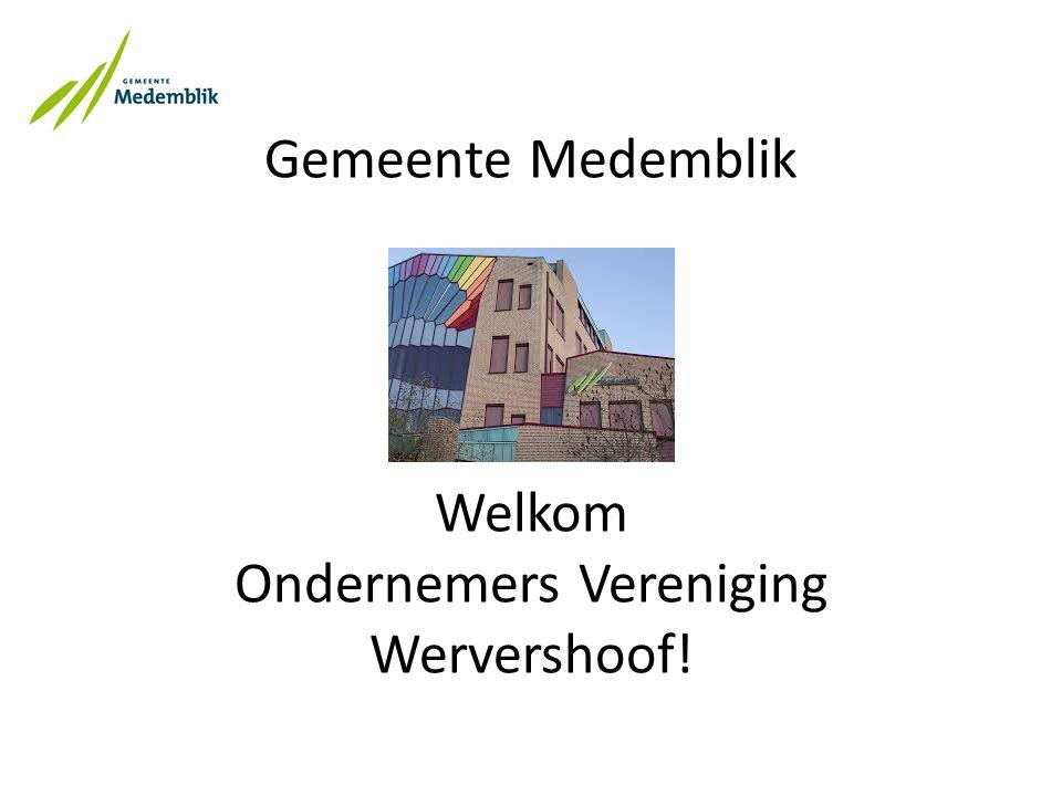 Gemeente Medemblik Welkom Ondernemers Vereniging Wervershoof!
