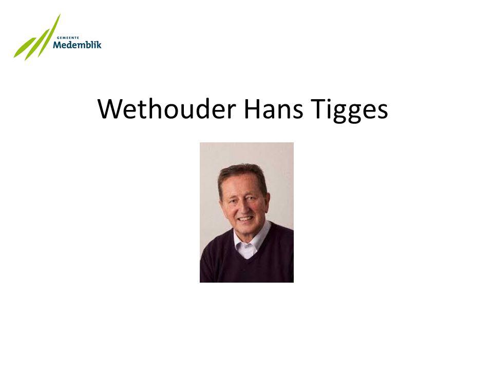 Wethouder Hans Tigges