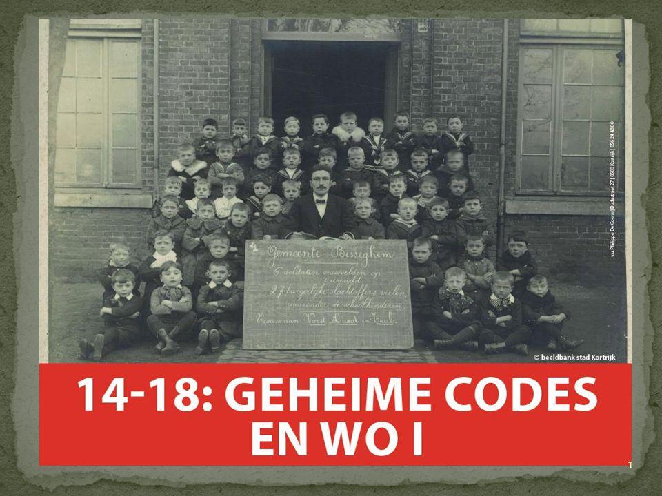 Polybiusvierkant: W wordt DA O wordt XF Codewoord nodig A-D-F-G-X : vijf Morsecodes nodig ADFGVX-code laat ook cijfers toe 22 Code gekraakt door Georges Painvin