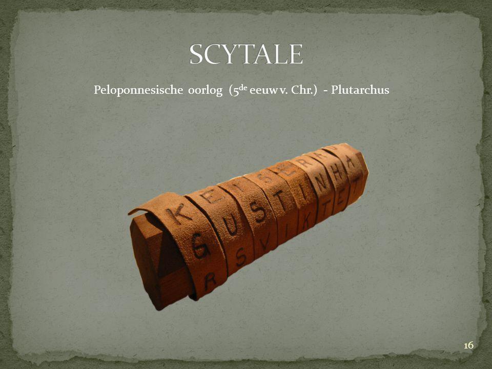 Peloponnesische oorlog (5 de eeuw v. Chr.) - Plutarchus 16