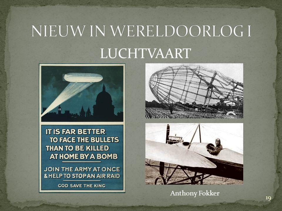 LUCHTVAART Anthony Fokker 19