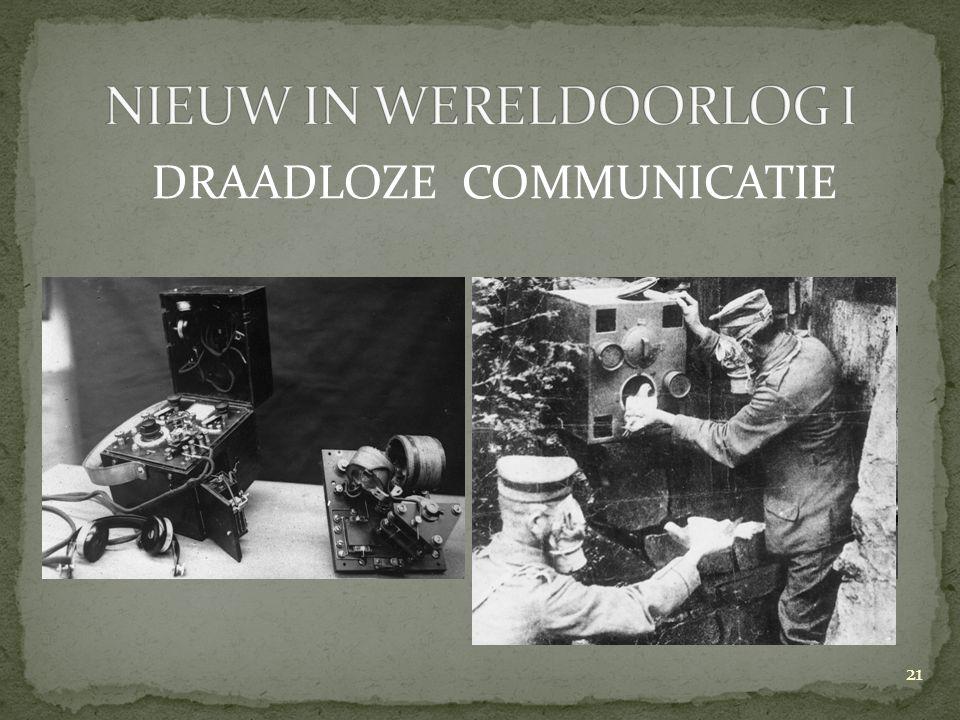DRAADLOZE COMMUNICATIE 21