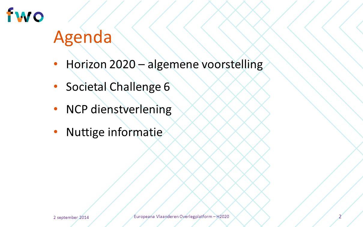 Wat is Societal Challenge 6 .