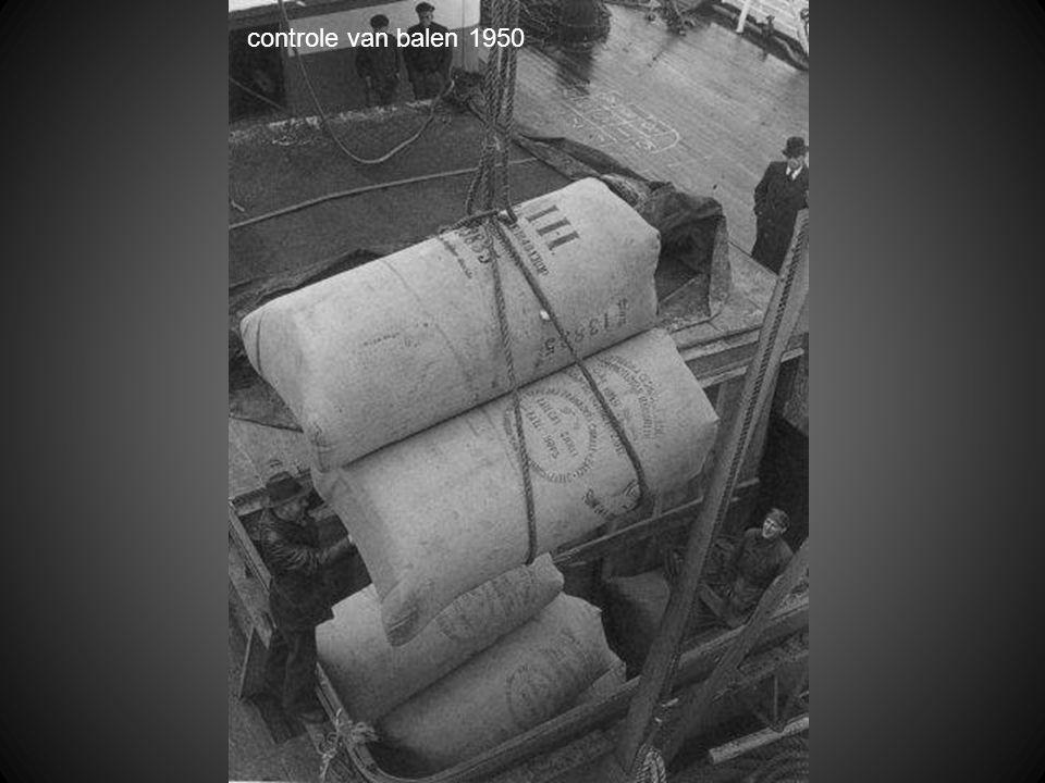 controle van balen 1950
