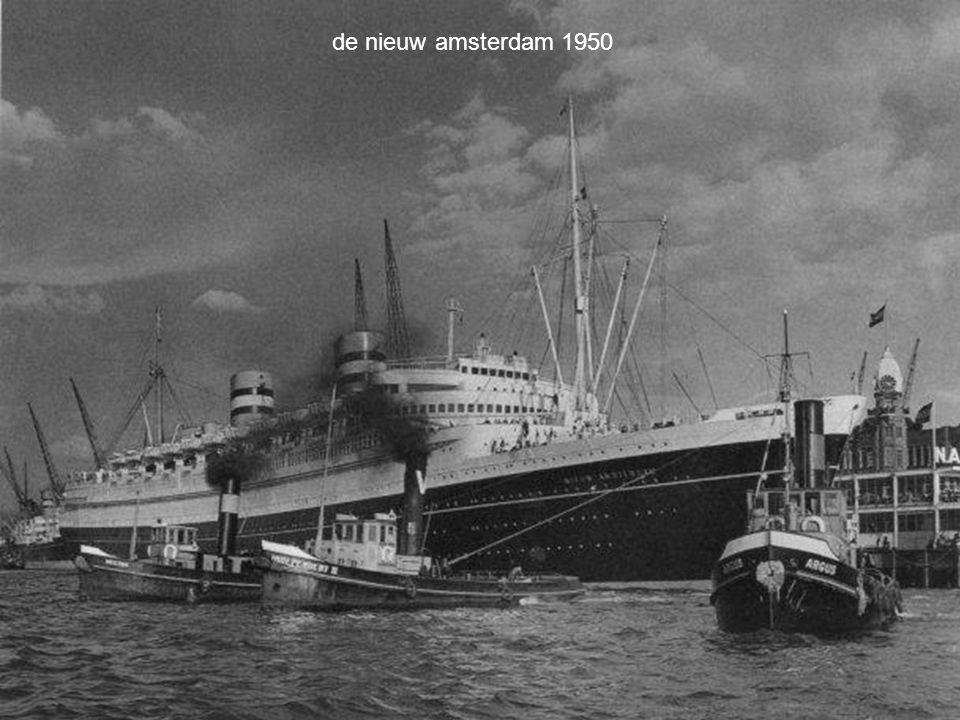 de nieuw amsterdam 1950