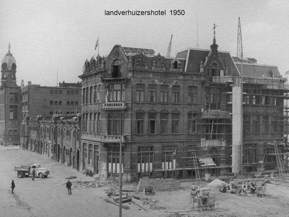 landverhuizershotel 1950