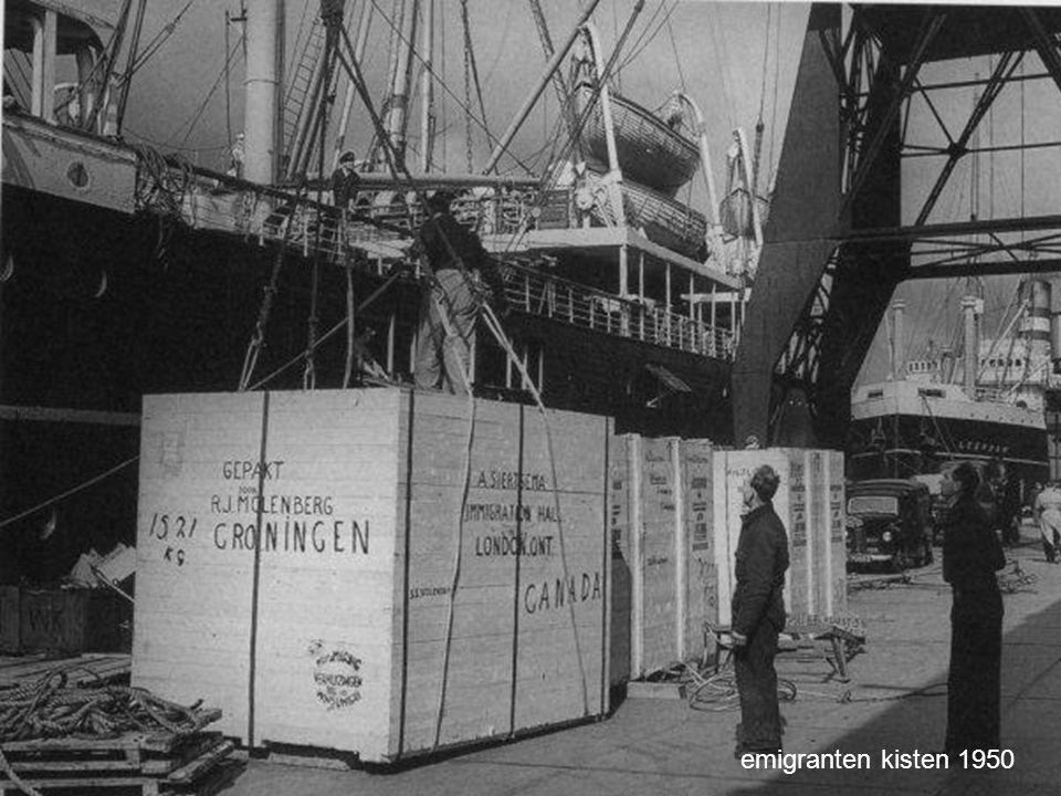 emigranten kisten 1950