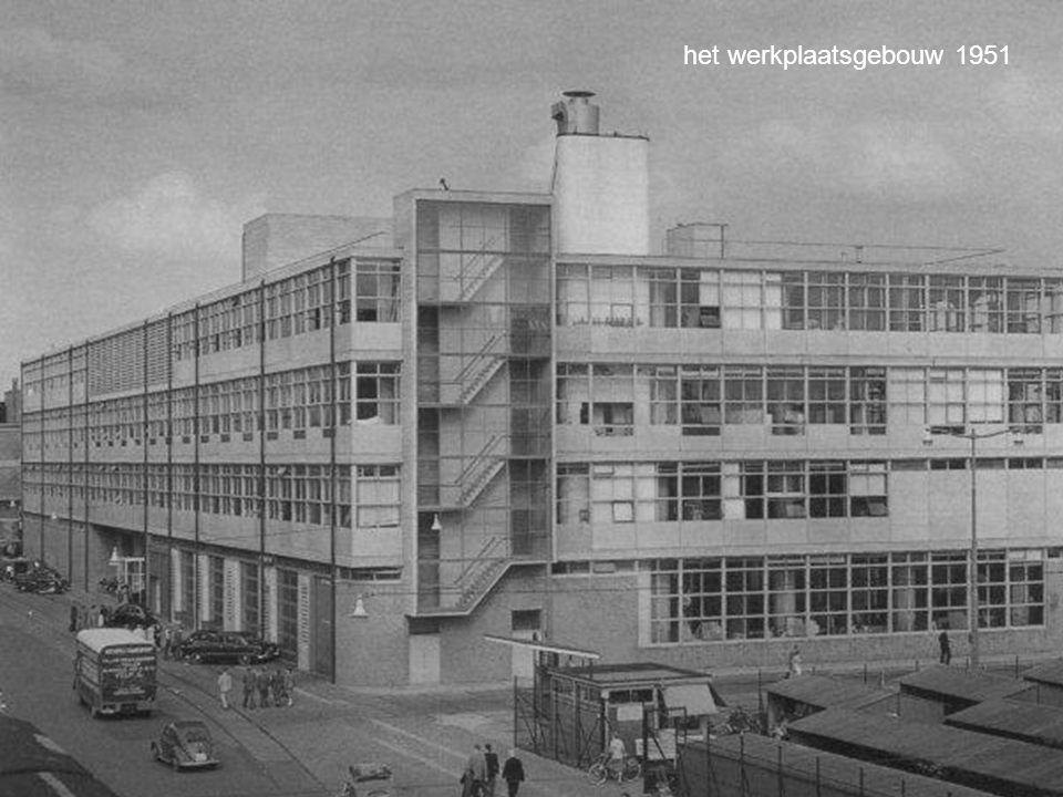 het werkplaatsgebouw 1951