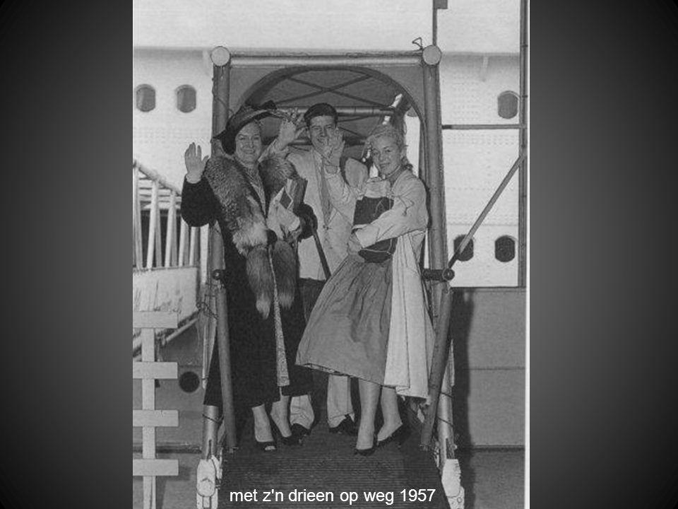 met z n drieen op weg 1957