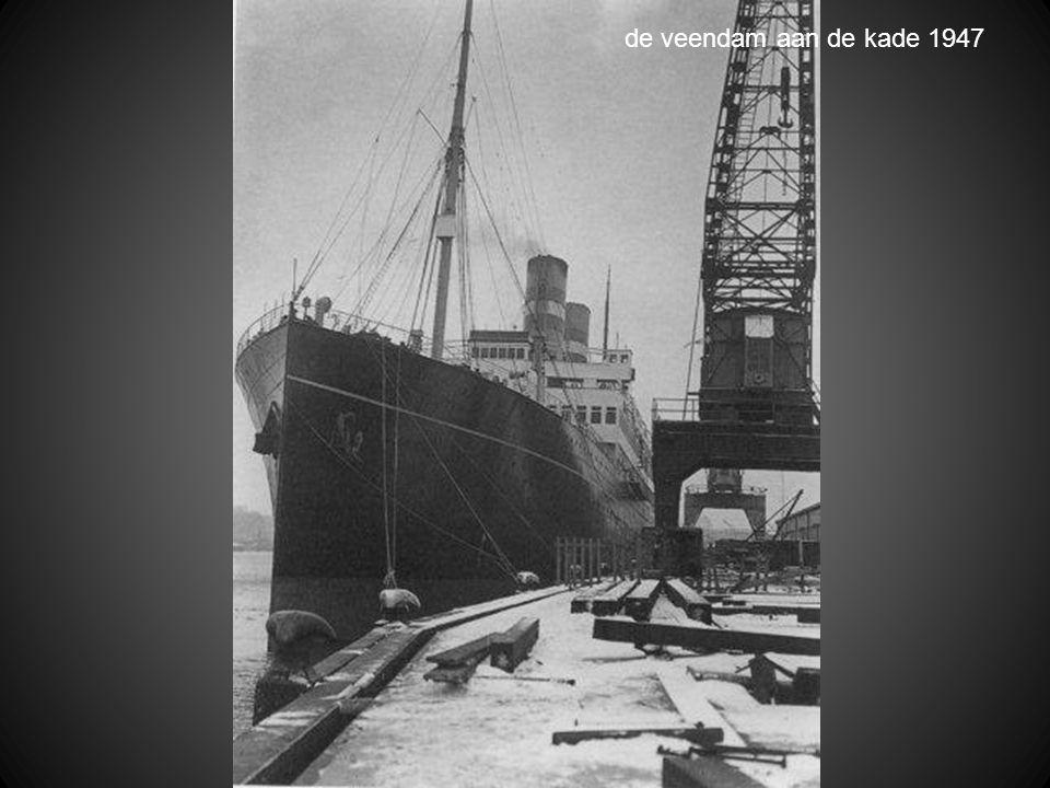 de komst van graan in het kader van de marshalhulp 1948