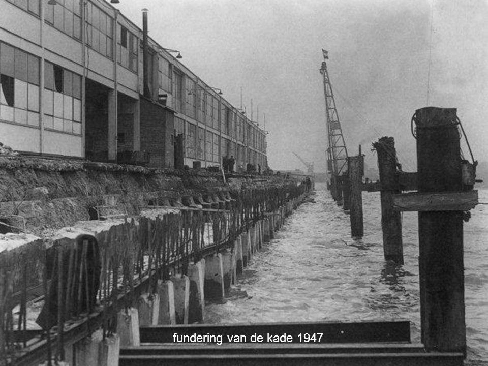 het hijsen van vaten 1949