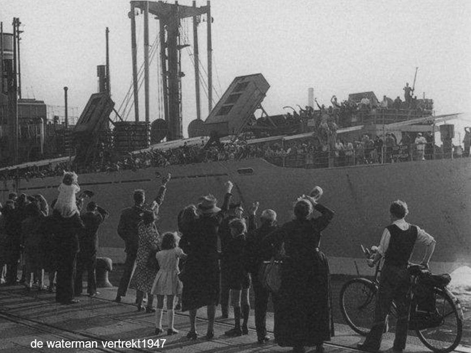 de HAL-sleepboot Amerika 1951