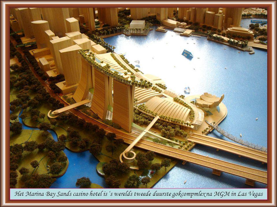 Klikken voor vervolg Op 24 juni is in Singapore het Marina Bay Sands Hotel geopend.
