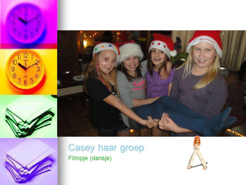 Casey haar groep Filmpje (dansje)